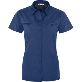 VAUDE Farley t-shirt Dames blauw